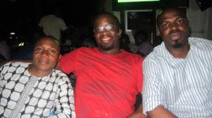 Cousin Abeeb and Tunde